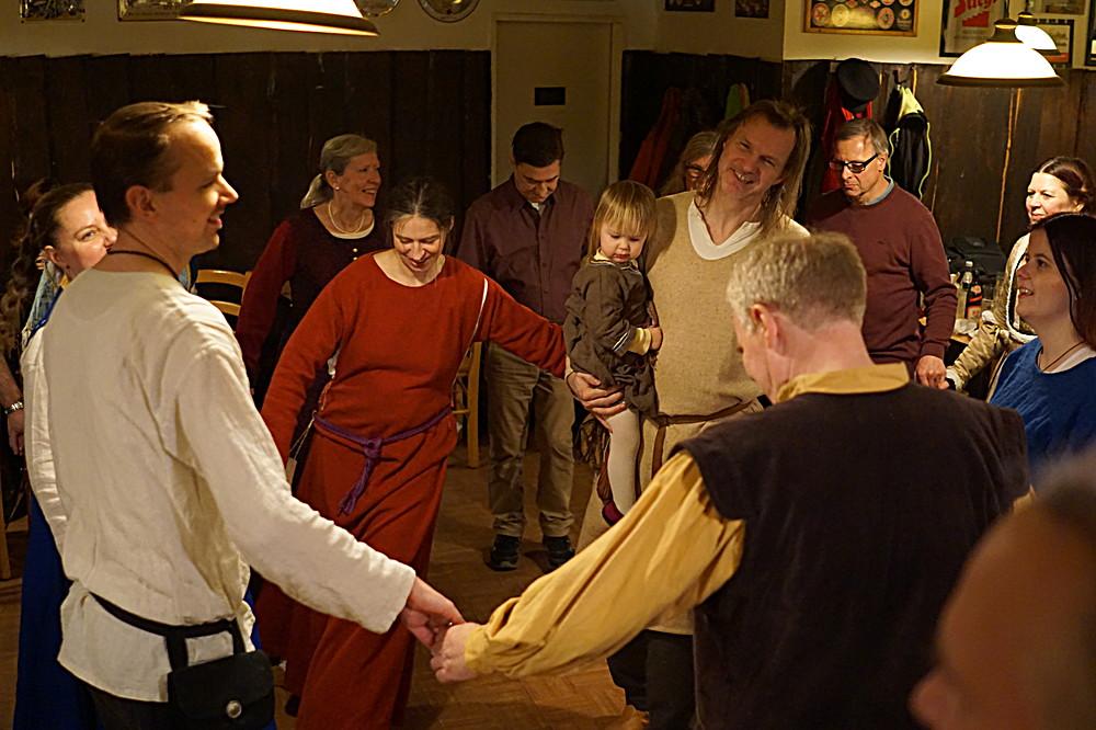 2018 03 04 Historische Tanztaverne mit GAITA aus SCHOTTLAND (Foto)